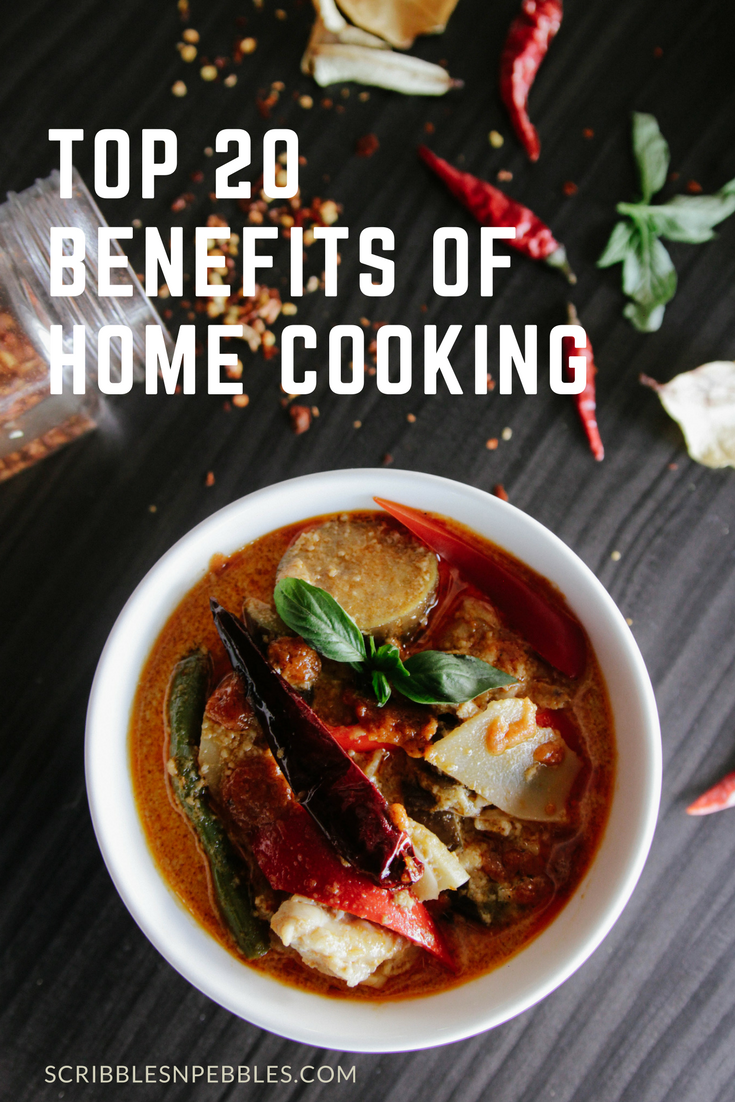 Top 20 Benefits of Home Cooking