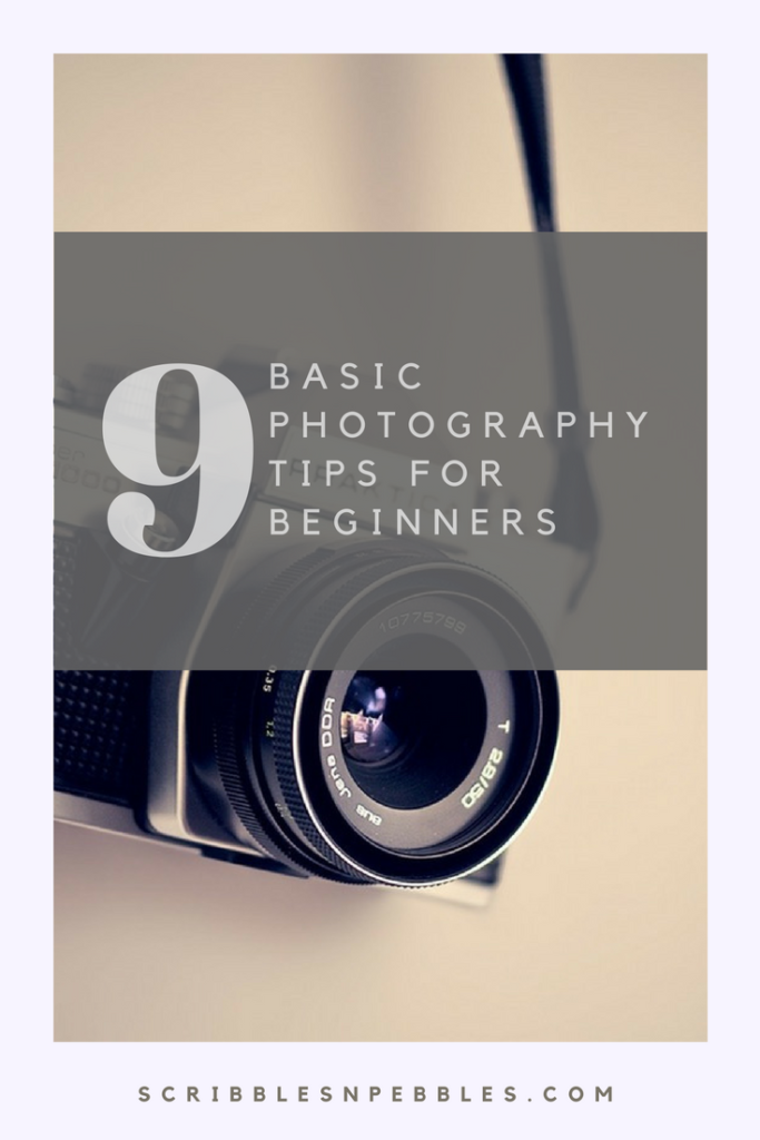 basic photography tips