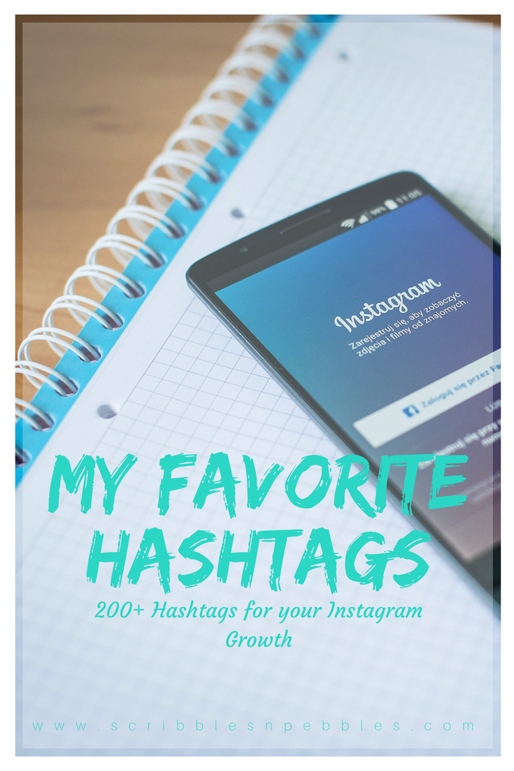 my favorite hashtags