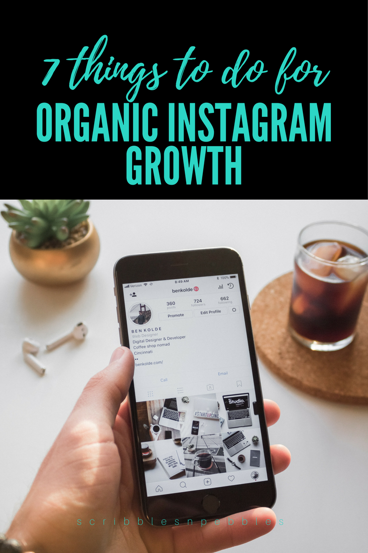 organic Instagram growth