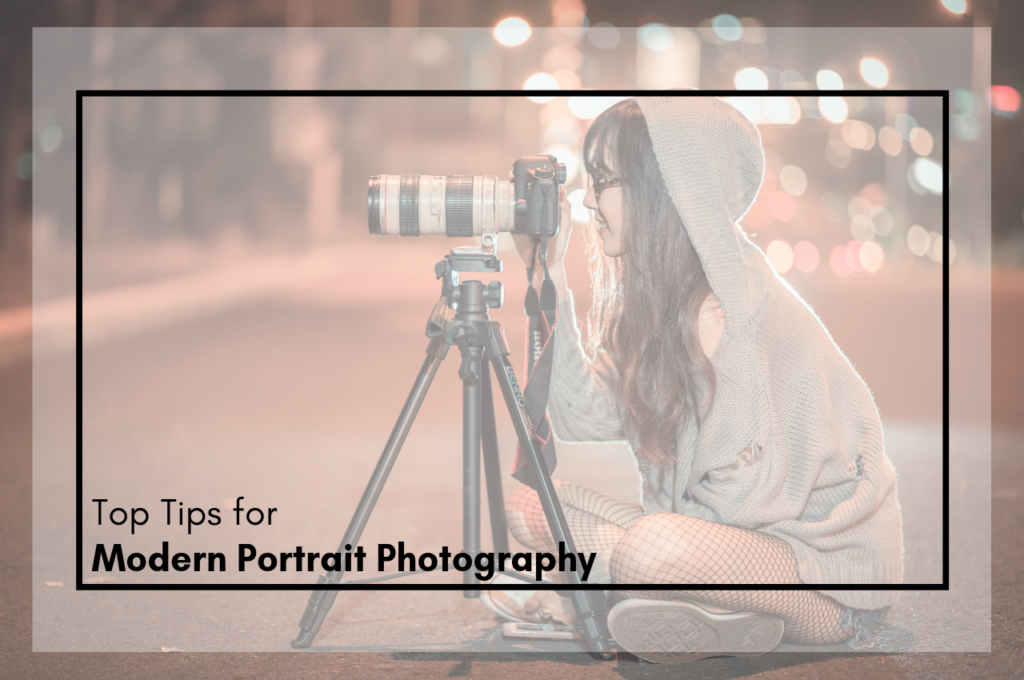modern portrait photography